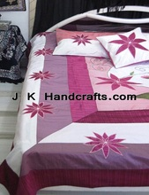 embroidered bedspreads suppliers, silk bed spreads exporters