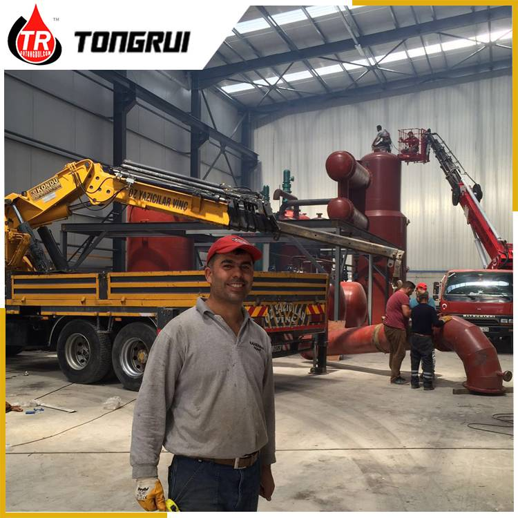 Tongrui Used Mineral Synthetic Engine Oil Recycling Regeneration Recovery Equipment