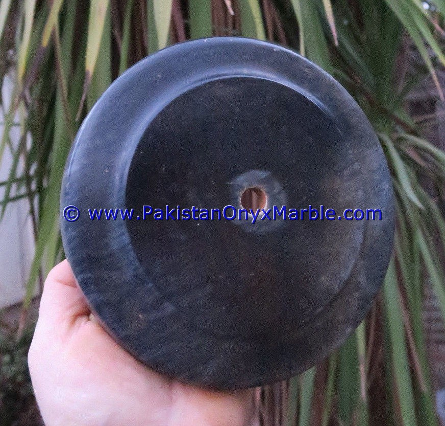 MARBLE BASES ROUND FOR CUSTOM AWARDS TROPHY BLACK