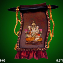 Lord Ganesha Leaves wall hanging for Home decor