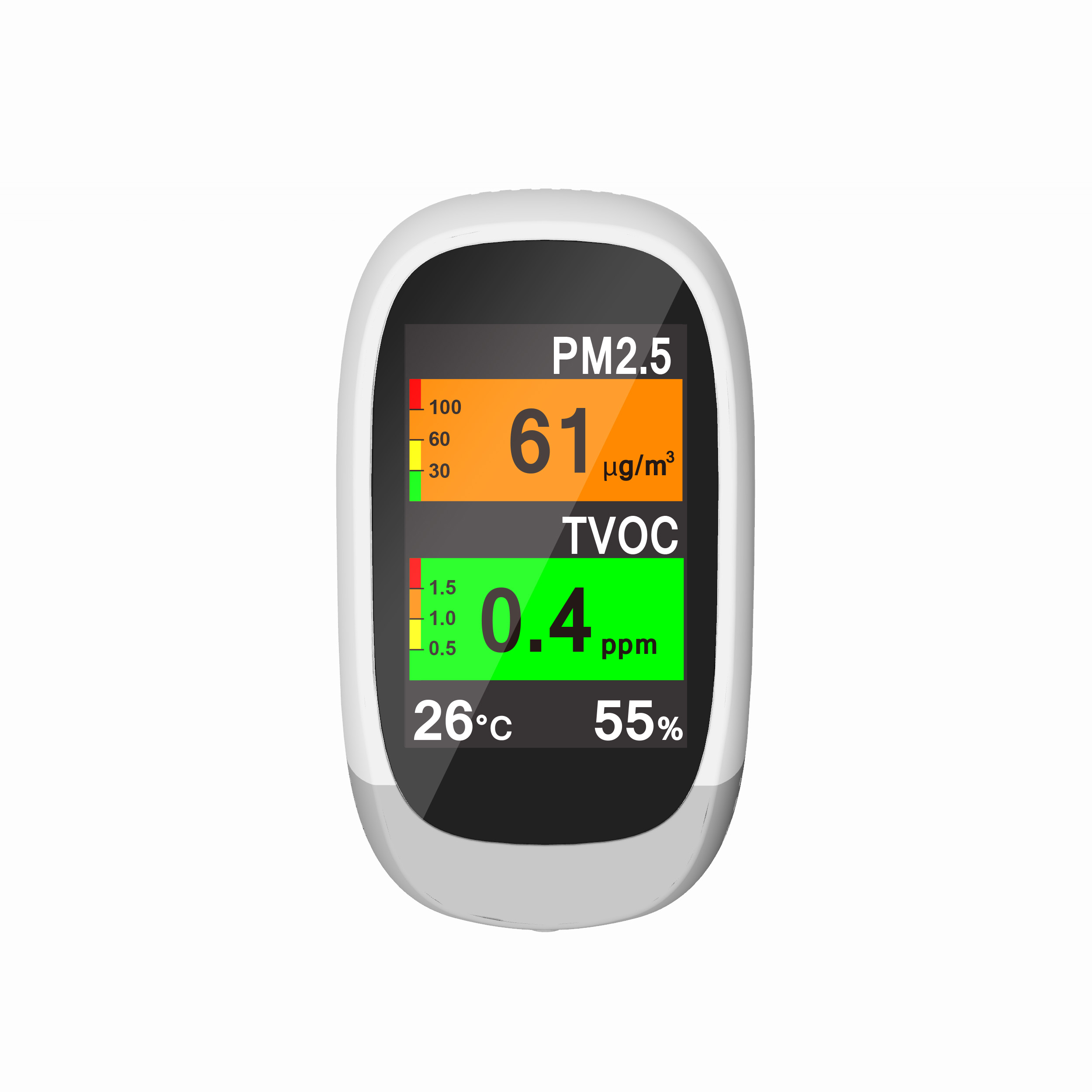 New Portable Air Quality Detector Monitor