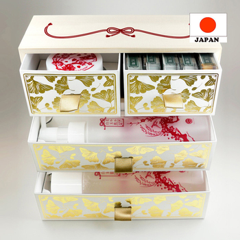 Fashionable and Effective Beautiful kyo minori skin care set for daily use made in japan