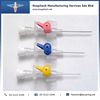 OEM Medical HMS IV Cannula with Different Types and Sizes and Color for Hospitals
