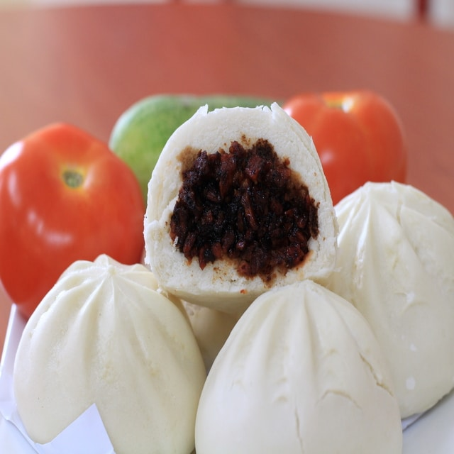 Made in Malaysia Frozen Ready To Eat Food Vegetarian Steamed Bun