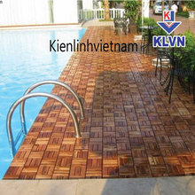 wood plastic outdoor deck interlocking plastic floor tiles for balcony/patio/bathroom, size: 30x30 cm