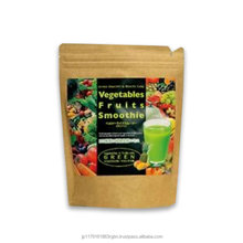 Nutritious and Good taste fruit and veggie super food powder , green smoothie with smoothie cups