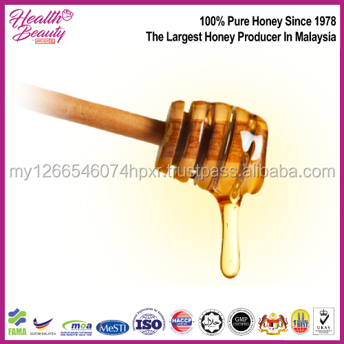 Malaysia sweet and tasty for health and beauty skin Leaf Pure Honey