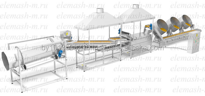 Automatic Glazed Nuts and Seeds Production Line VZHP-800