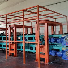 (2nd Hand) Pre-insulated air duct panel(polyurethane foam production line) machine to making polyurethane foam, from South Korea