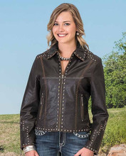 Latest stylish leather jacket for women/unique women leather jacket/new look leather jacket