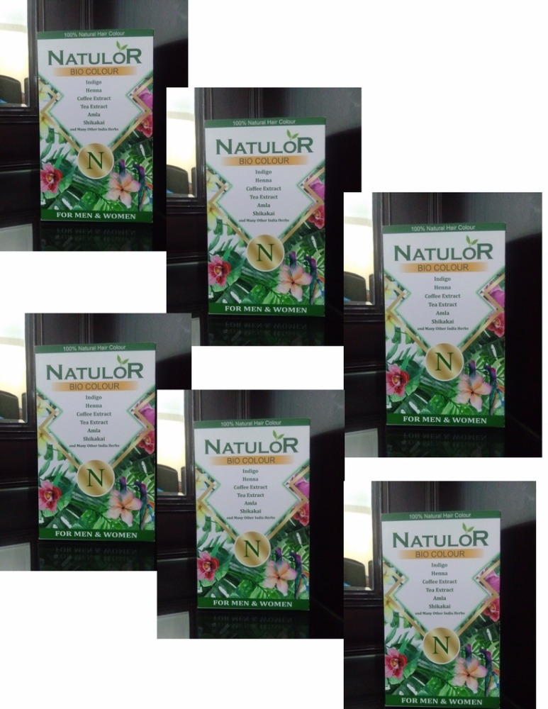 Private label NatuloR hair dye prevention of scalp itching