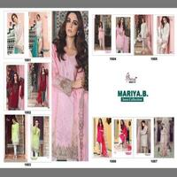 Shree Fabs Maria -B Lawn Cotton Cambric Cotton Print With Embroidery Pakistani Replica Lawn Salwar Kameez