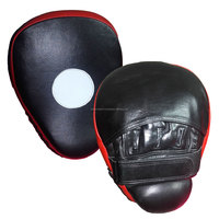 High Quality Leather Training target punch pads / PU boxing focus mitts by Red Horn Sports