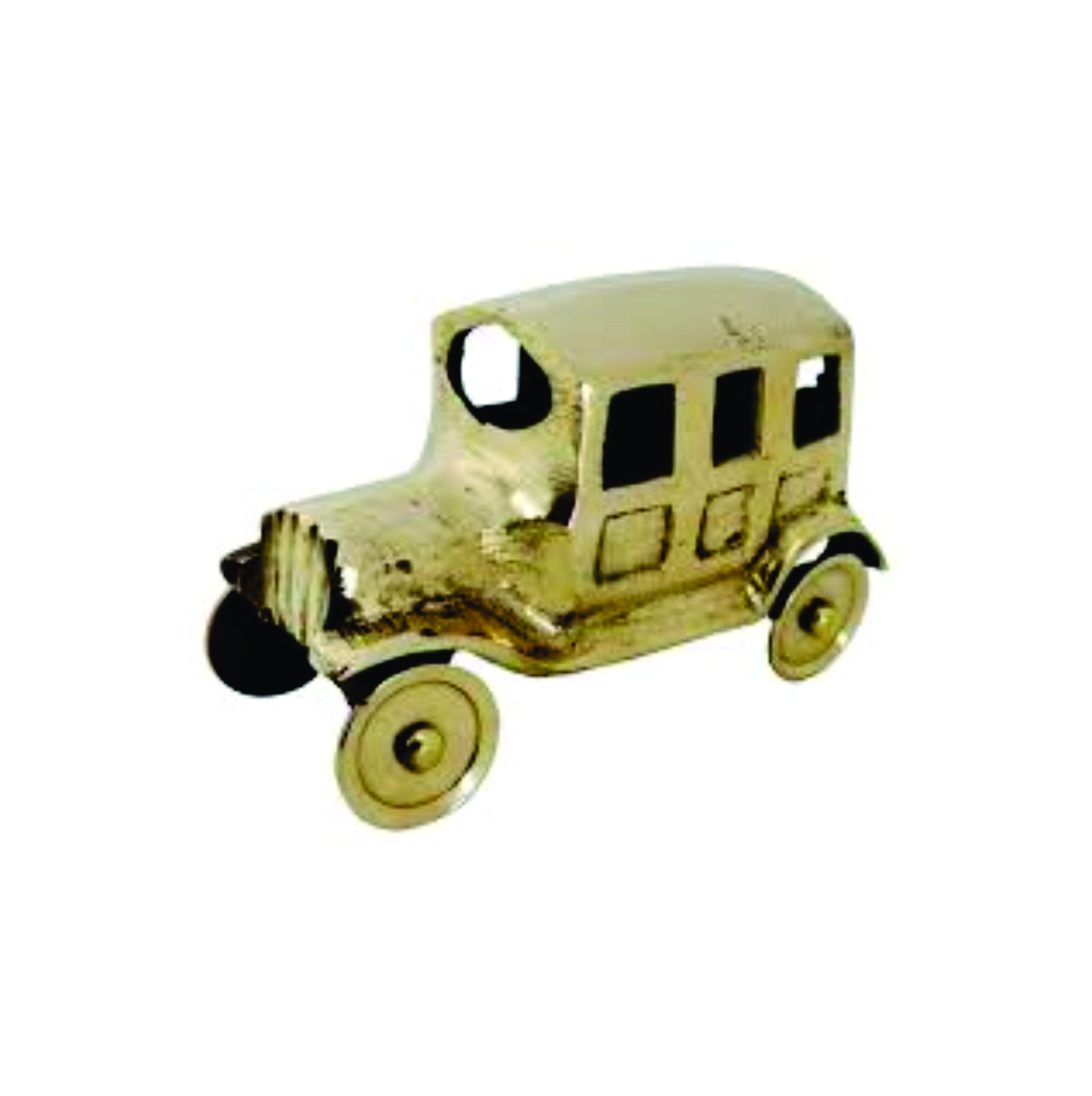 miniature toy cars made of brass