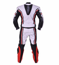 Men's Leather Motorbike Racing Suit
