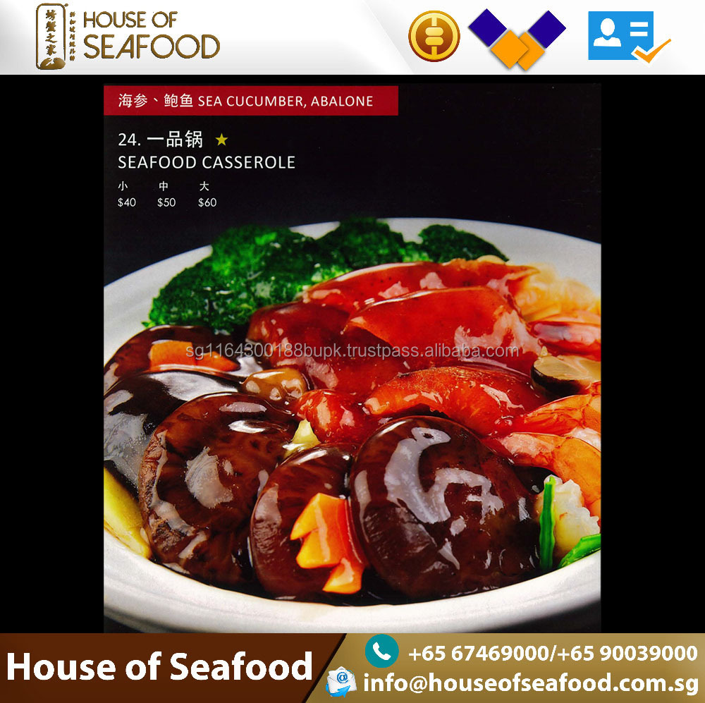 Best selling Seafood Ready to Eat seafood casserole with sea cucumber, abalone