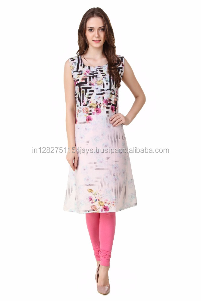 best selling western kurti designs wholesale manufacturer and exporter (SSIK16)