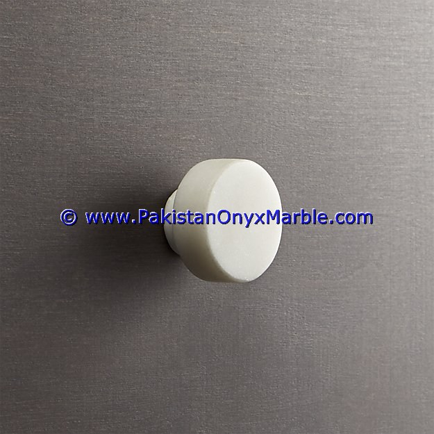 DECORATIVE CUSTOM DESIGNS MARBLE KNOBS CABINETS DRAWER DOOR WINDOW KITCHEN KNOBS PULLS DECOR ZIARAT WHITE CARRARA