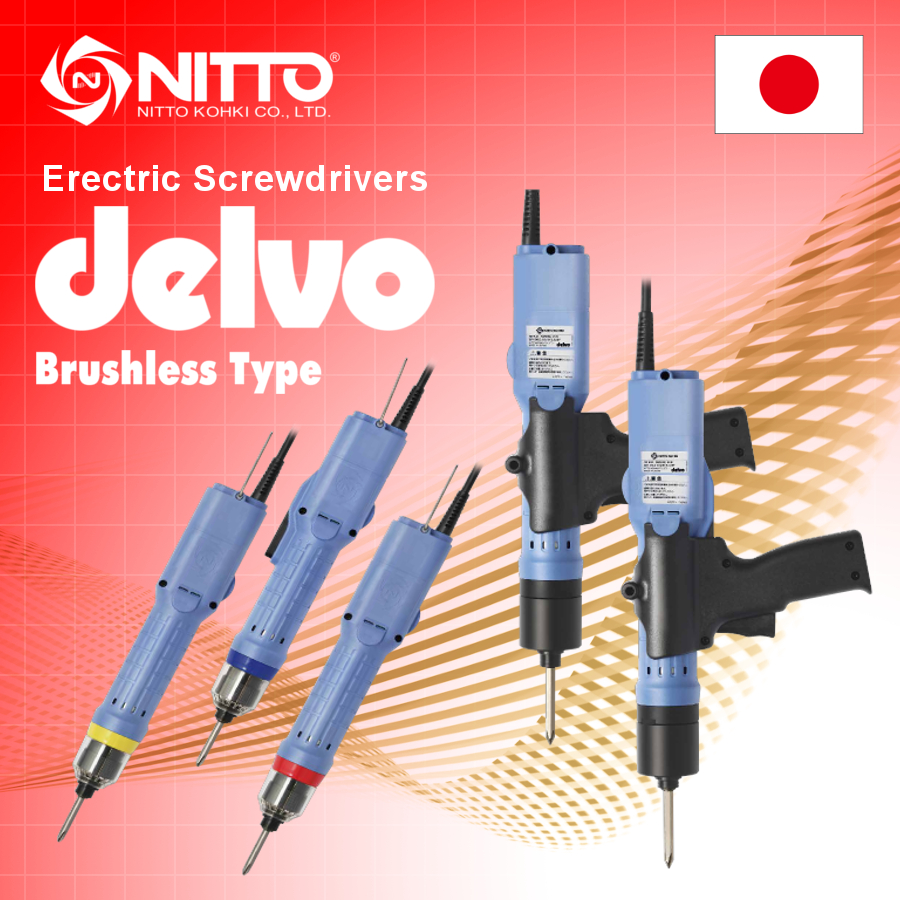Professional Electric driver Delvo made in Japan