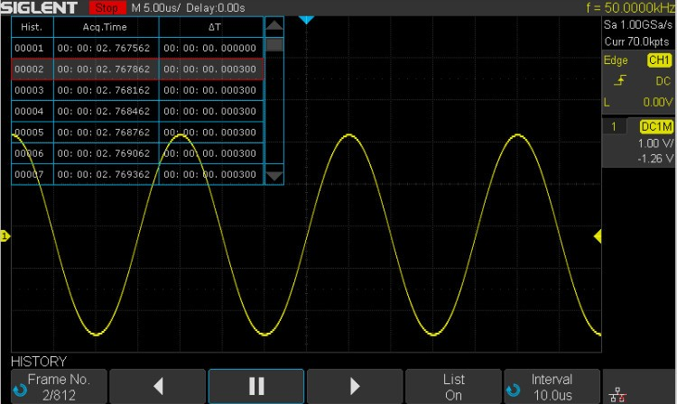 SIGLENT New SDS1202X-E,200MHz 2 Channels digital oscilloscope, measurement instrument!