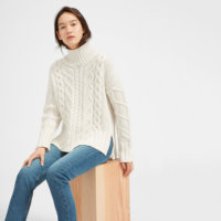 2019 Korean Style Winter Women Sweater Long Sleeve Custom Neck Knitwear Jumpers Sweater Woman