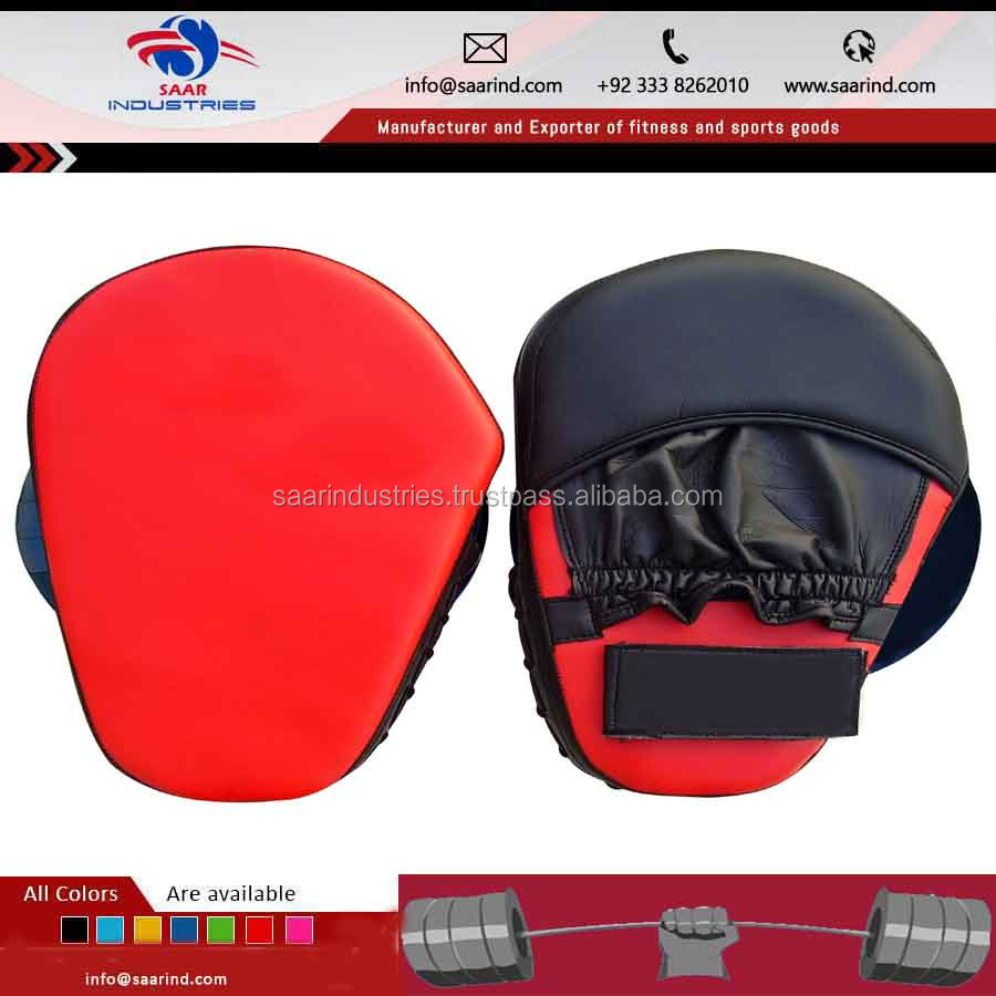 MMA, Boxing Training Equipment/ Curved Taekwondo Focus Mitt/Kicking Pad/Kickboxing Kicking Target/ Punching pad