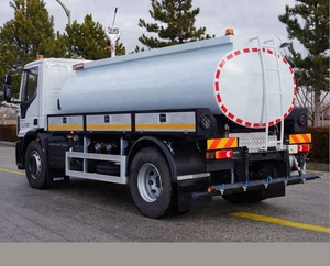 8000 litter Water Tanker Truck with the Street Washing function