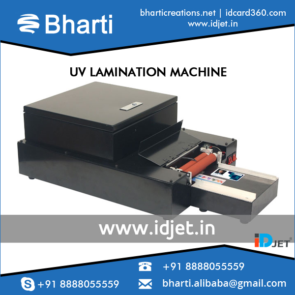 High Working Efficiency PVC ID Cards Laminating Machine