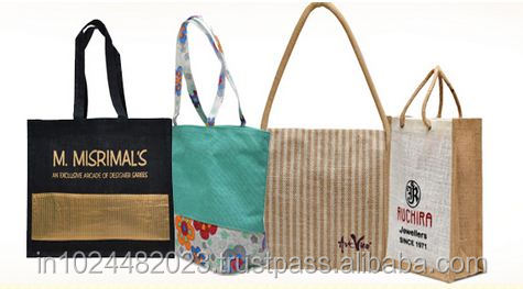 2018 hot sale shopping jute bag exported to USA