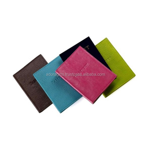 Personalised Any Country Passport Holder Cover Assorted Colours