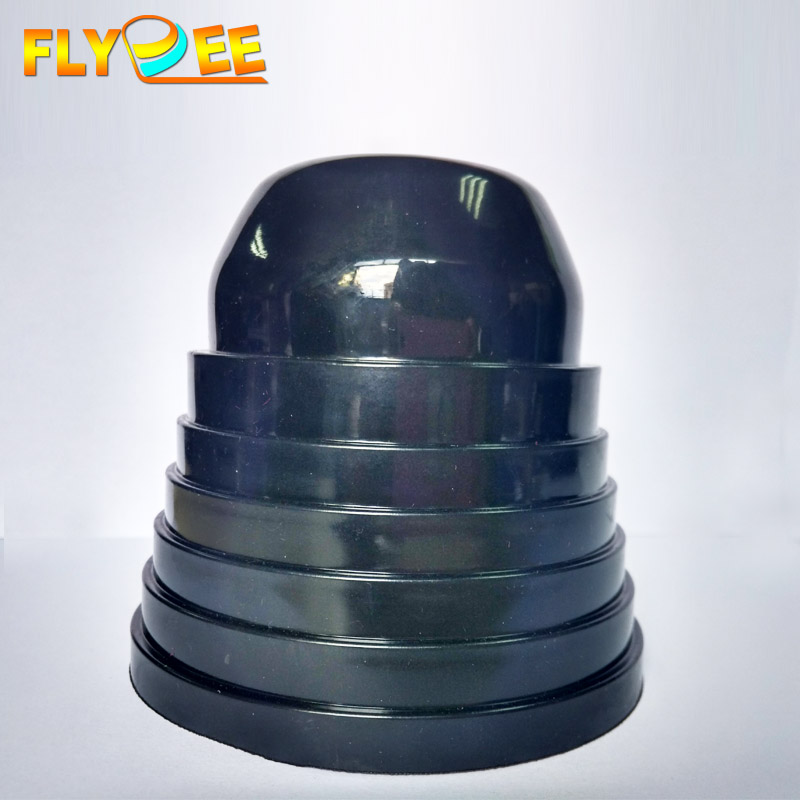 Cuttable Flexible Automotive 70mm 75mm 80mm 85mm 90mm 95mm 100mm Car LED Headlight Dust Cover