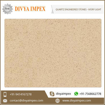 Engineered Quartz Stone Slabs and Tiles  from India