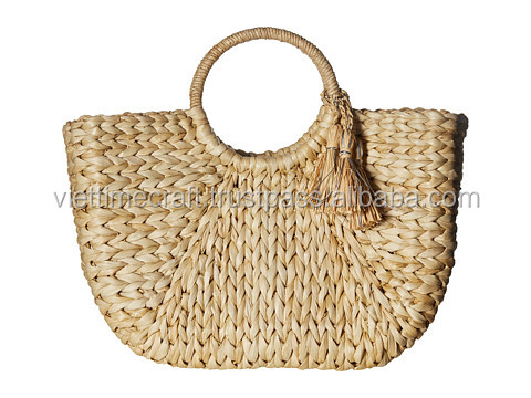 2017 summer hot-selling item, water hyacinth beach bag