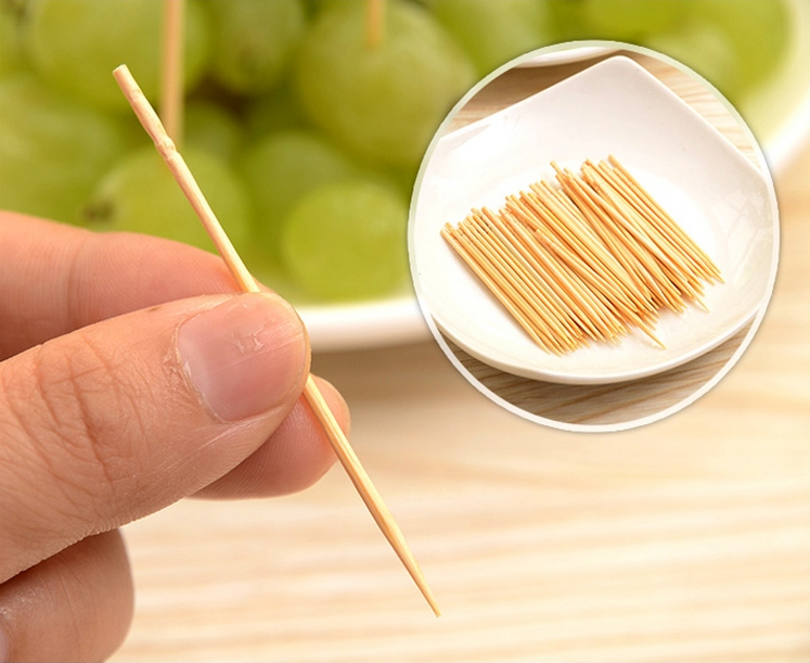 Bulk bamboo toothpicks of high quality