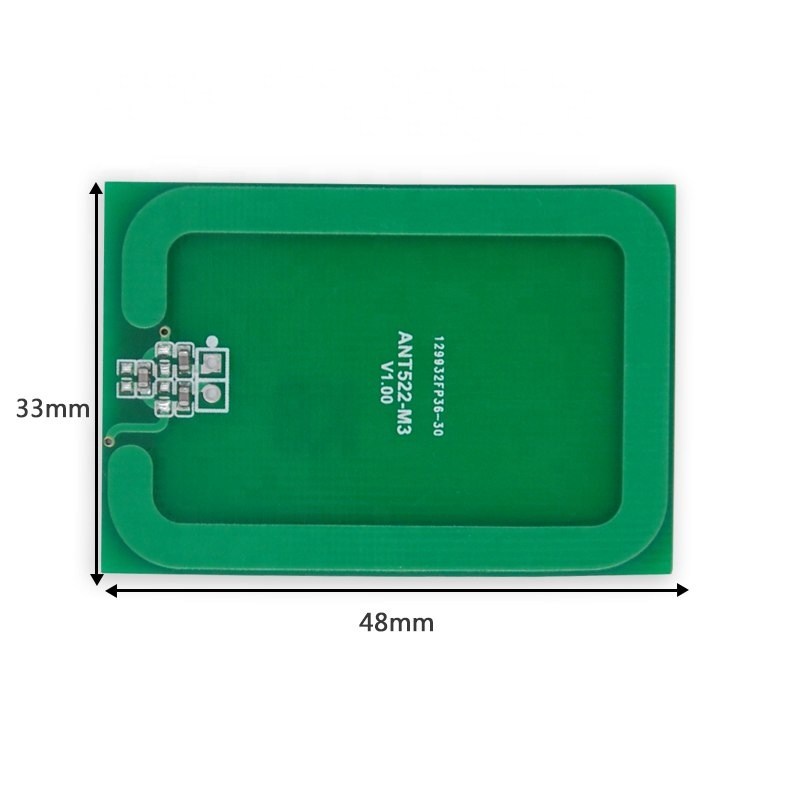 Taidacent Small Active Directional High Gain Uhf Reader External Pcb Long Range Coil 13.56mhz Rfid <strong>Antenna</strong>