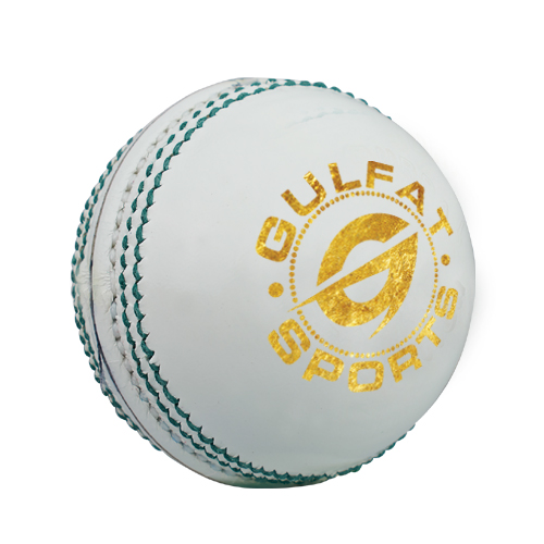 White leather cricket ball, machine stitched high quality cricket ball