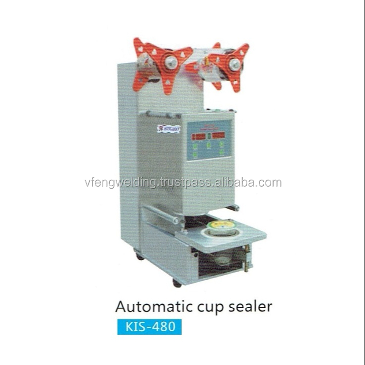 AUTOMATIC CUP SEAlING MACHING