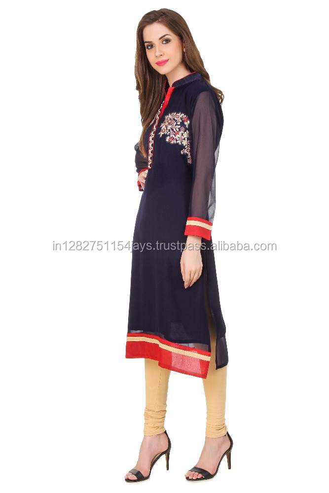 hot selling popular kurti design cheapest wholesale price