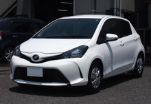 Excellent Condition RHD Second Hand Hatchback 2014 Toyota Vitz yaris from Japanese supplier