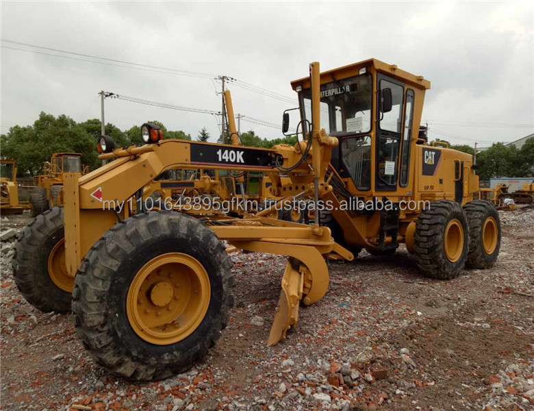 used caterpillar 140K motor grader,Japanese CAT motor grader140G/140K/140M/140H original 100%
