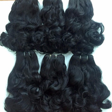 human hair in vietnamese hair high quality funmi wavy super double drawn hair wholesale