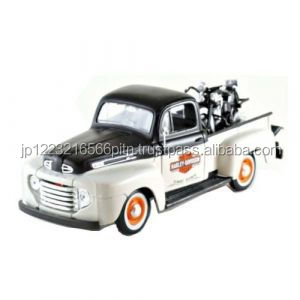 decoration and Easy to use Maisto 1:24 Harley F1 pickup + pan head 2 colors Die cast minicar for Interior of the room
