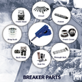 KOPAS HYDRAULIC BREAKER PARTS