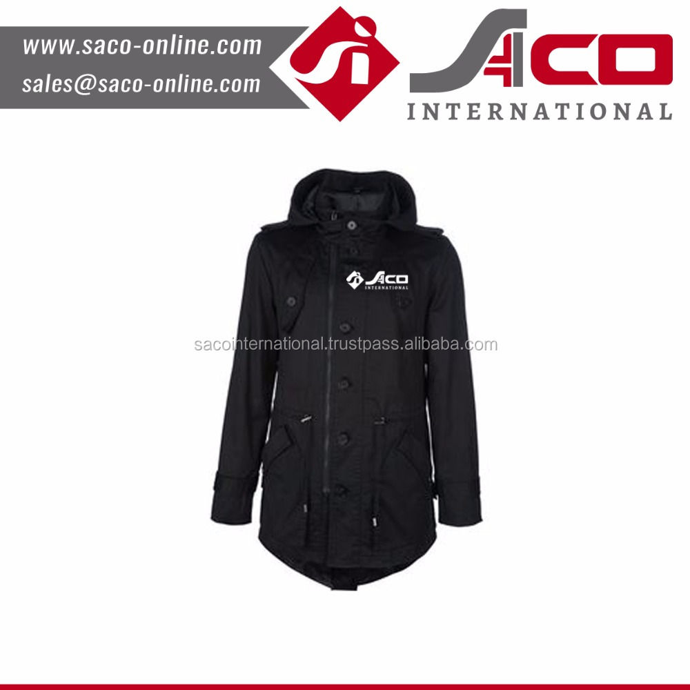 OEM service for Men's heavy padded coat without hood band