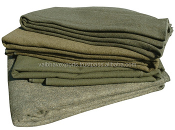 Olive Green Military Blankets