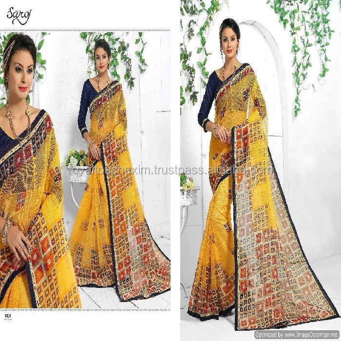 cotton sarees patch work printed old age indian bengal silk chettinad SAREE