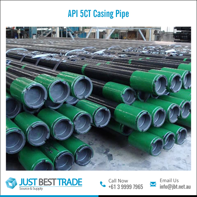 API 5CT Oil Casing Seamless Steel Pipe with Rust Preventing Paint