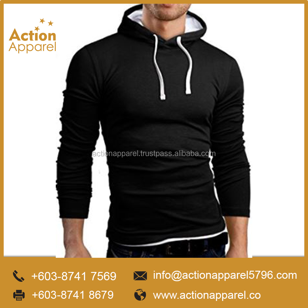 High Quality Custom OEM Men's Long Sleeve Hoody