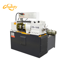 Greatcity hot sale Processing 30-56mm high speed hydraulic rebar thread rolling machine