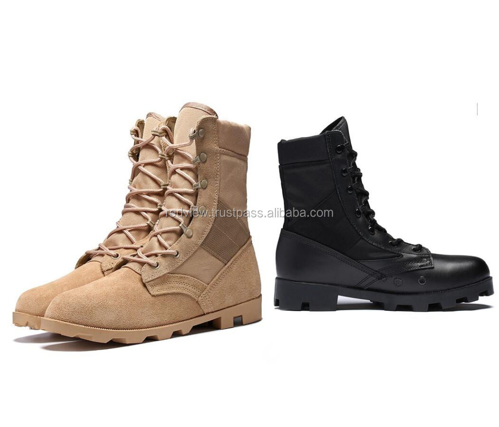 army hunting desert shoes military boot infantry combat footwear tactical police boots